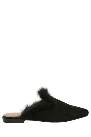 Chatelles - Hippolyte Black Suede Pump