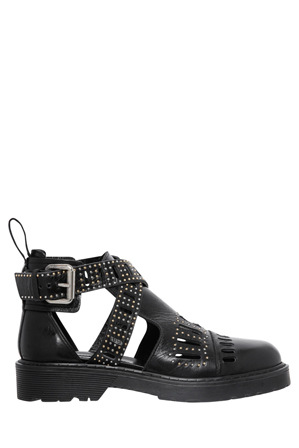 MCQ Alexander McQueen - Dalston Cut Out Black Boot