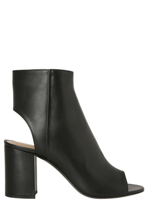 Barbara Bui - Buckeye Black Leather Bootie