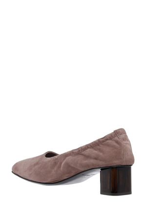 Robert Clergerie - Poket Taupe Suede Leather Court
