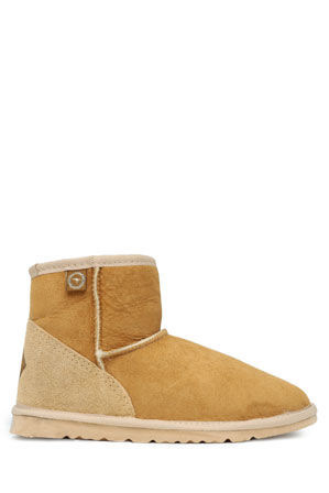 Ugg Australia - Flat Almond Toe Mini Ugg Boot