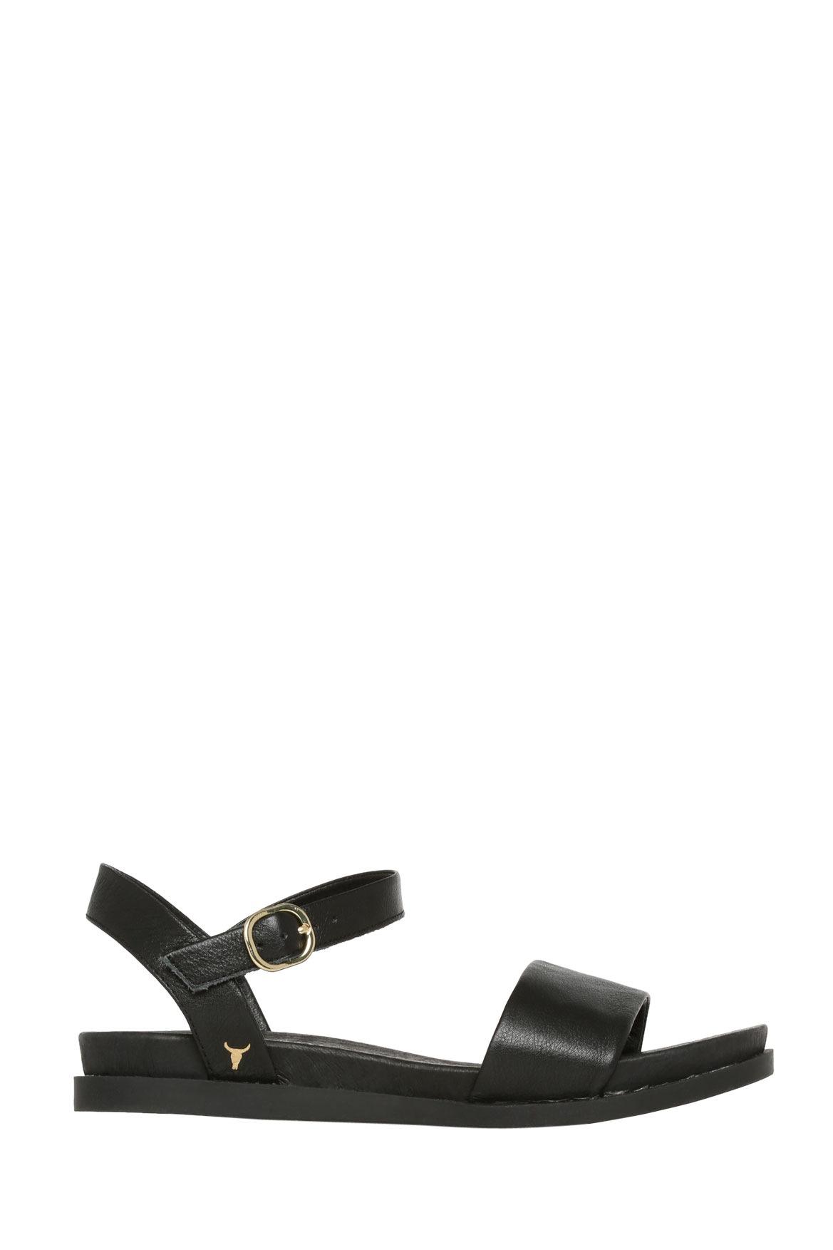 Black sandals myer - Details Black Classic Flat Sandal