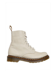 Dr Martens - Core Pascal 1460 8 Eye Ivory Virginia Nappa Boot