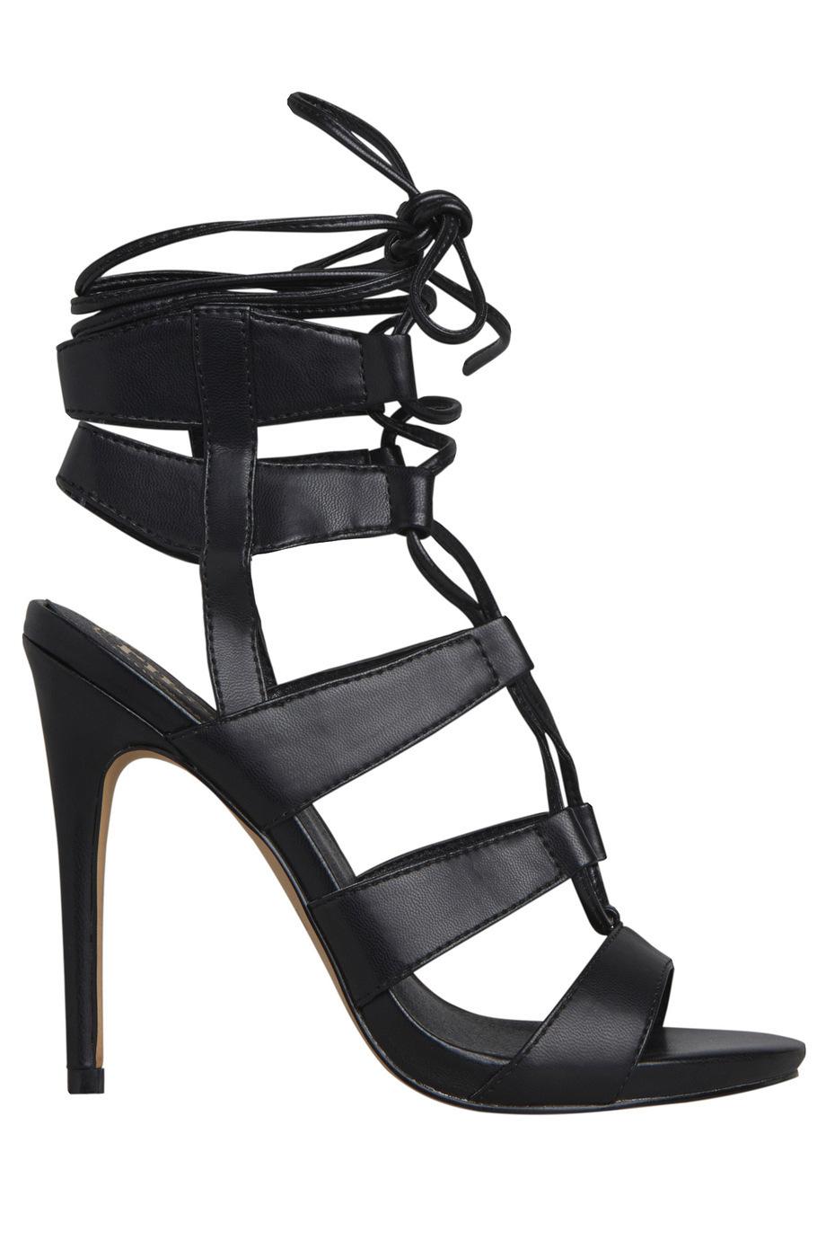 Black sandals myer - Myer