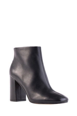 Siren - Party Black Leather Boot