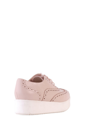 Siren - Teddy Rose Quartz Leather Sneaker