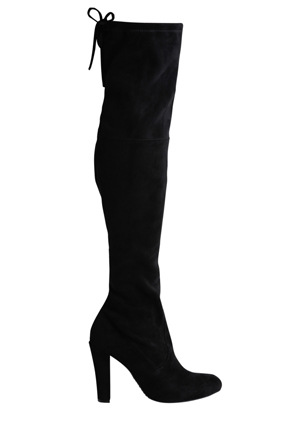 Steve Madden - Gorgeous Black Microsuede Boot