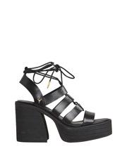 WINDSOR SMITH Liquid Black Sandal