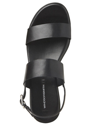 Windsor Smith - Emmy Black Sandal