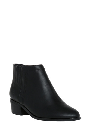 Miss Shop - Hilary Black Smooth Boot