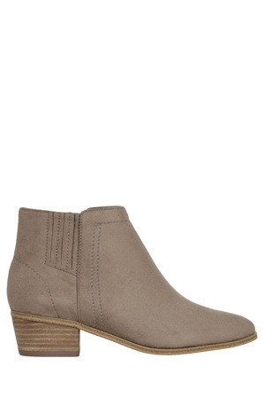 Miss Shop - Hilary Taupe Smooth Boot