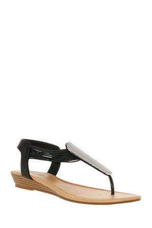 Miss Shop - Starstruck Black Sandal