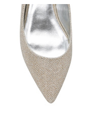 Collection - Marni Gold Glitter Pump