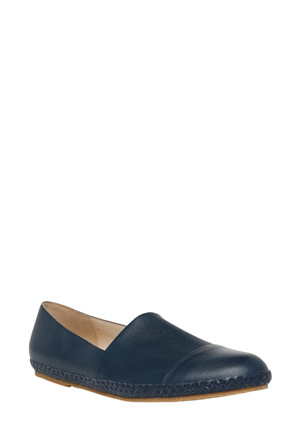 Trent Nathan - Olive Navy Leather Pump