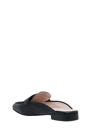 Trent Nathan - Carina Black Leather Loafer