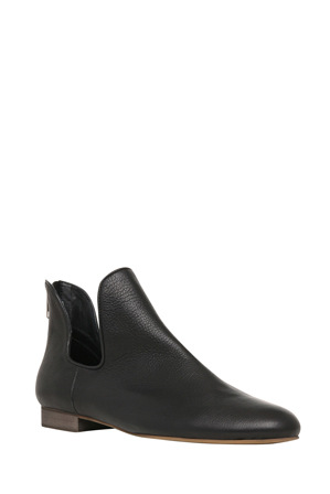 Zazou - Gen Black Leather Boot
