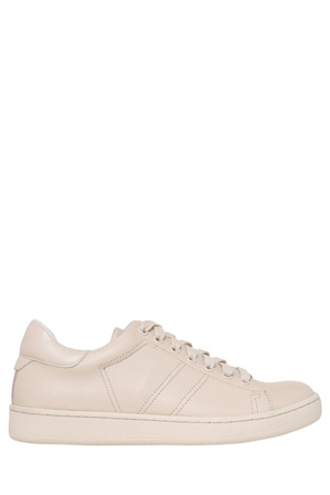 Urban Soul - Ace Nude Leather Sneaker