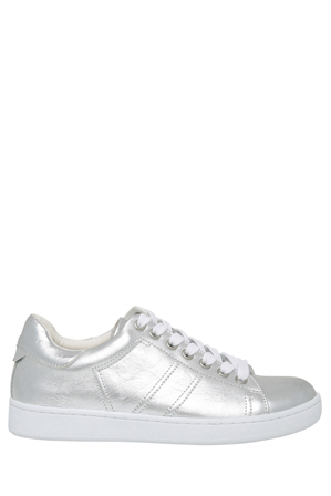 Urban Soul - Ace Silver Leather Sneaker