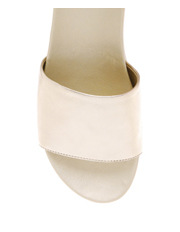 Piper - Isola Gold Leather Sandal