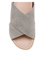 Piper - Kelly Grey Suede Sandal