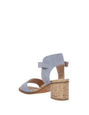 Piper - Vanessa Blue Suede Sandal
