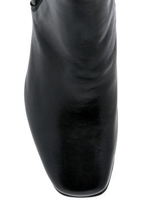 Piper - Elvira Black Leather Boot
