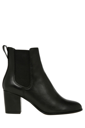 Piper - Cheska Black Leather Boot