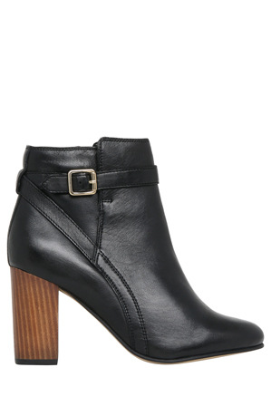 Basque - Georgie Black Sheep Leather Boot