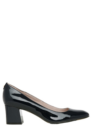 Basque - Dorothy Navy Patent Pump