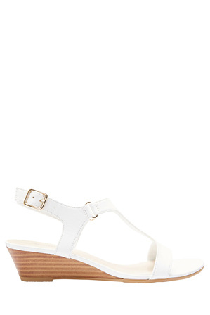 Sandler - Quincy White Glove Sandal