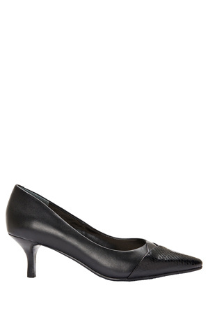 Sandler - Newport Black Snake Print / Kid Pump