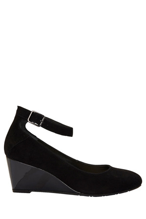 Sandler - India Black Suede Pump