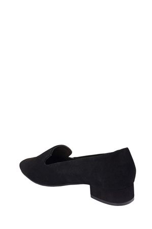 Sandler - Fame Black Suede Loafer