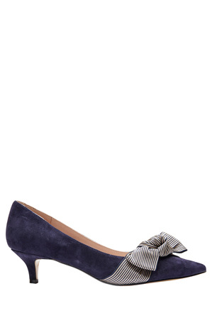 Jane Debster - Ziggy Navy Suede Pump
