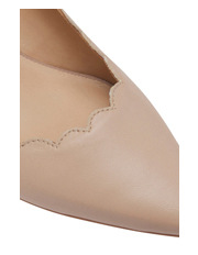 Jane Debster - Zanna Nude Leather Pump