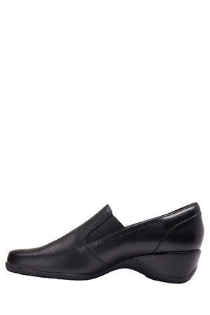 Easy Steps - Cassidy Black Glove Loafer