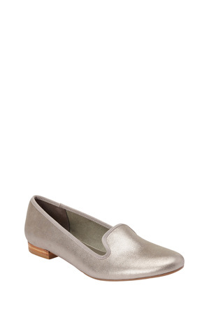 Easy Steps - Juno Pewter Rub Loafer