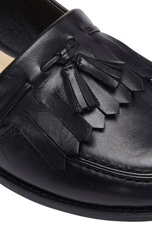 Easy Steps - Sinatra Black Glove Loafer