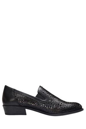 Easy Steps - Bentley Black Glove Loafer