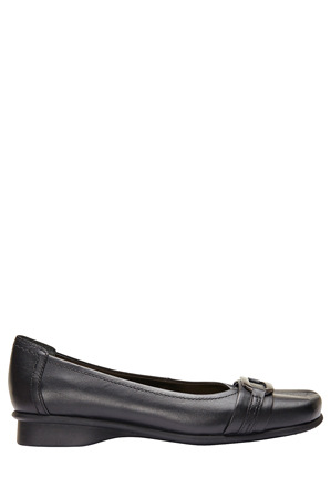 Easy Steps - Kembla Black Glove Pump