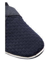 Easy Steps - Fortune Navy Elastic Weave Pump
