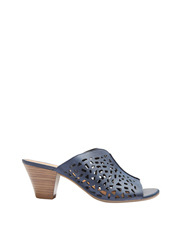 Easy Steps - Willow Navy Nubuck Sandal