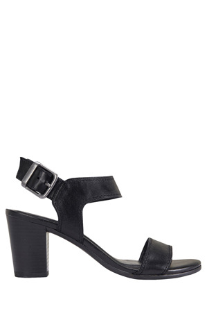 Easy Steps - Opal Black Glove Sandal