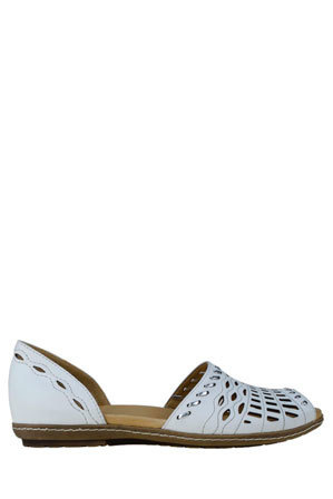 Earth - Shore White Sandal