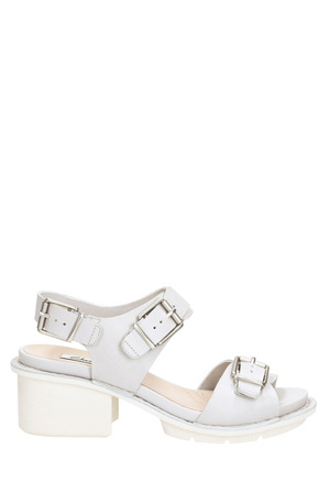 Clarks - Hexton Glitz Ice Blue Leather Sandal