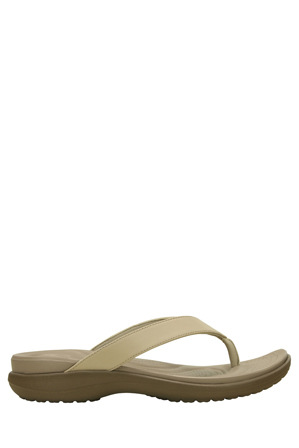 Crocs - Capri V Flip With Chai/Walnut Sandal