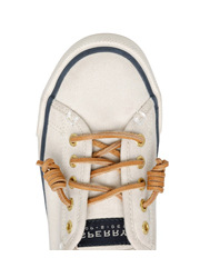 Sperry - Seacoast Core Canvas (XS90549) Ivory Sneaker