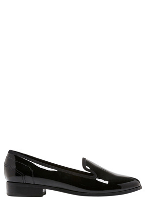 Hush Puppies - Fantastic Black Patent Loafer