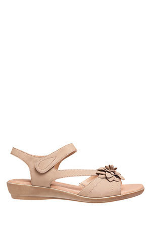 Hush Puppies - Dallas Bone Nubuck Sandal