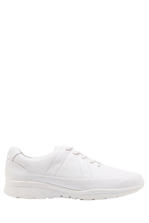 Hush Puppies - Sleek White Sneaker